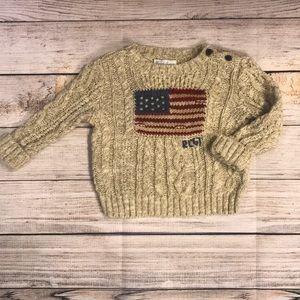 Baby Boy Ralph Lauren Sweater 6months